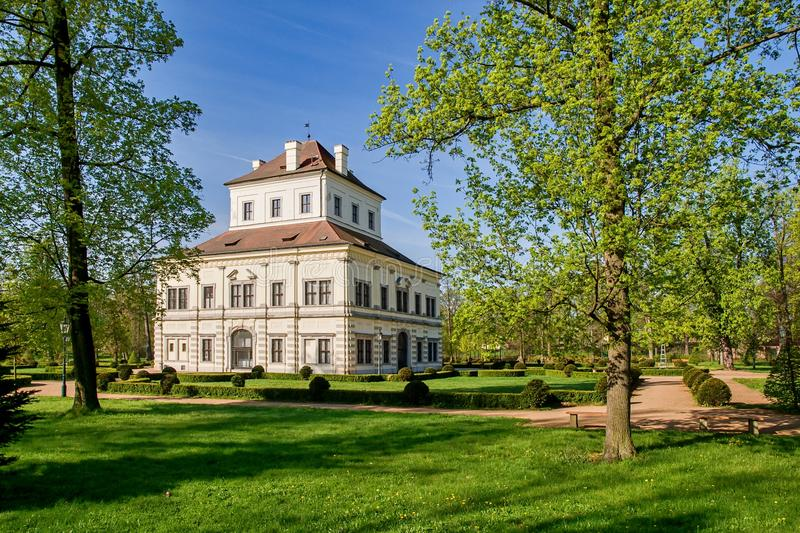 Summerhouse - Ostrov nad Ohri. Summerhouse in the grounds of the chateau park - Ostrov nad Ohri - Czech Republic stock photography