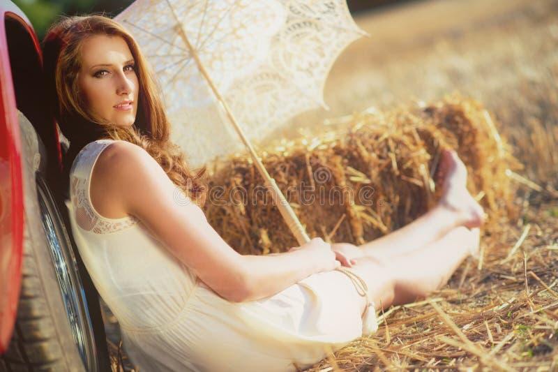 Download Summerromance stock photo. Image of female, happy, glamour - 26737136