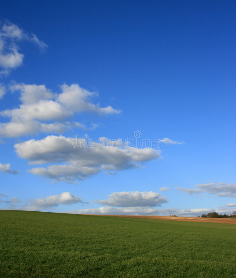 Summers day stock photography