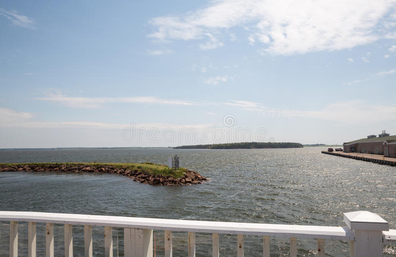 Summerside sur prince Edward Island dans le Canada photo stock