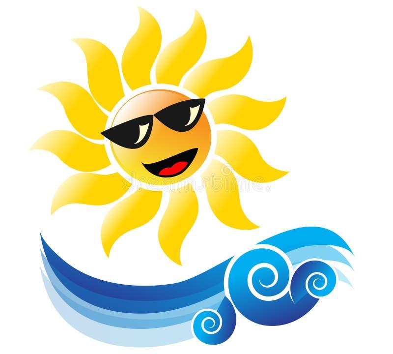 Download Summertime stock vector. Image of sunshine, beach, artistic - 13597177