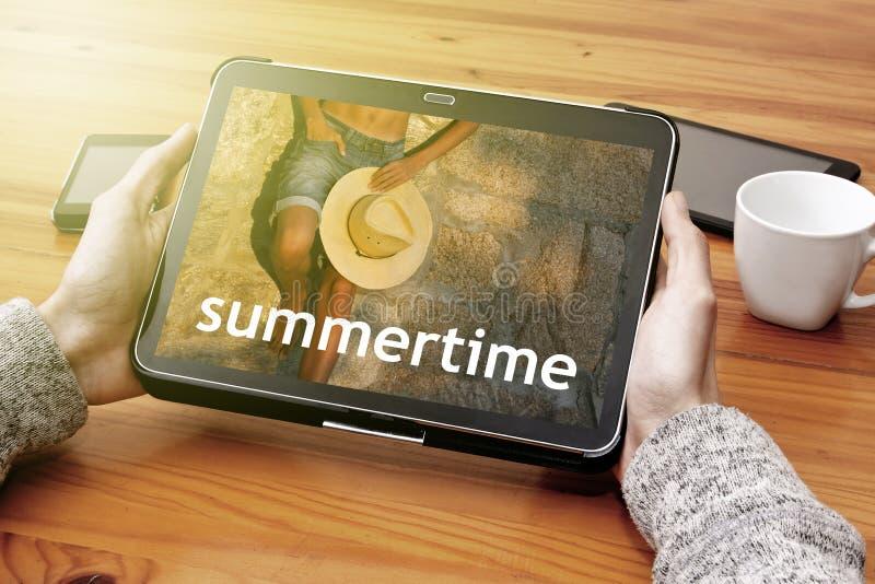 summertime immagine stock