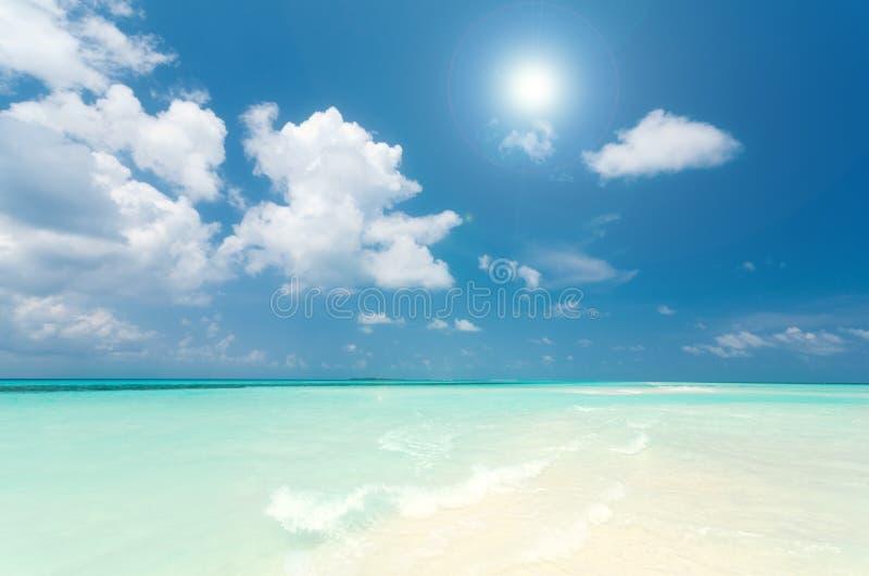 Summertime at the beach stock photos