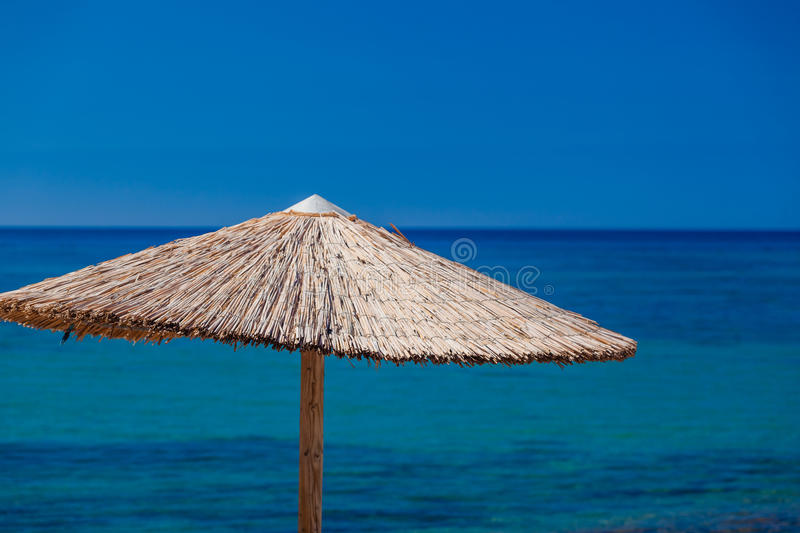 Summertime at the beach. Greece. Rhodes stock image