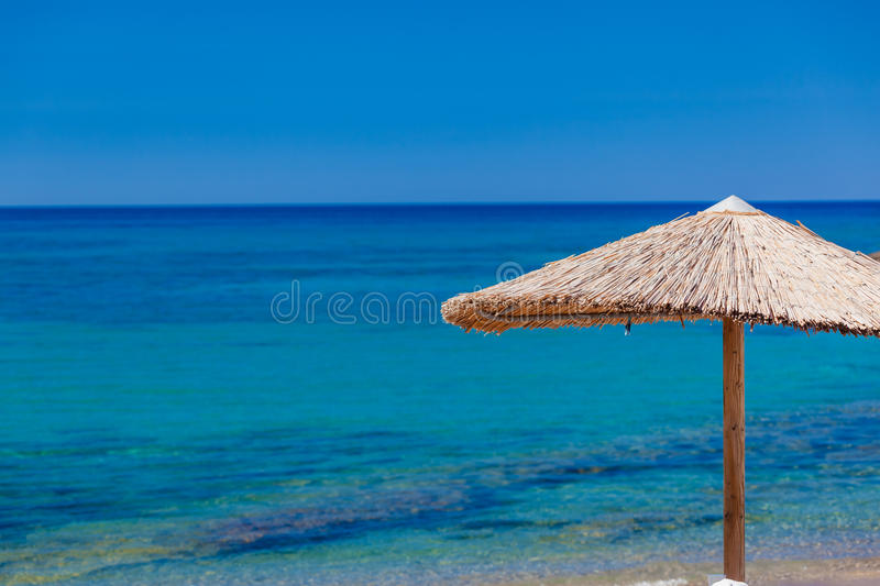 Summertime at the beach. Greece. Rhodes royalty free stock photography