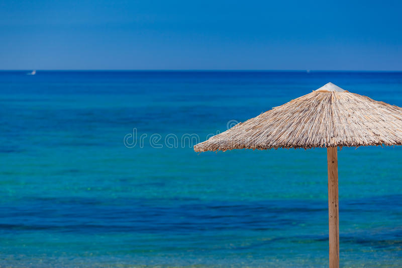 Summertime at the beach. Greece. Rhodes royalty free stock images