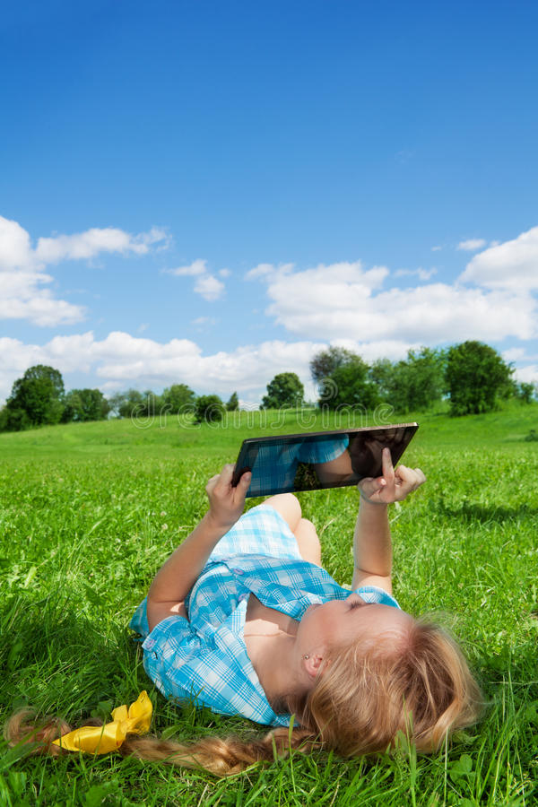 Summertime countryside activities stock photography