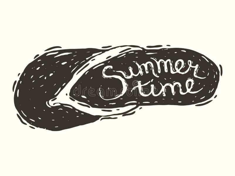 Summertime vector illustration