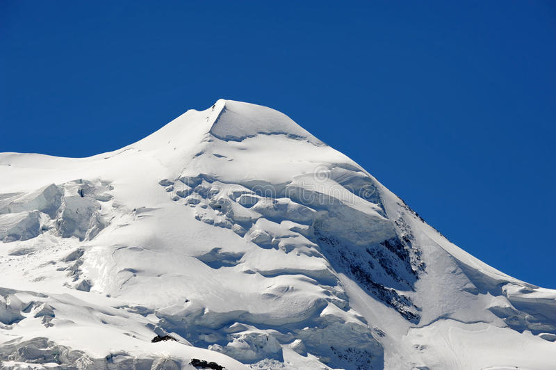 Download Summit of Castor stock image. Image of glacier, swiss - 26155553