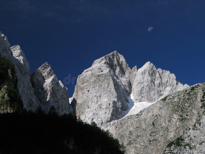 Summit of Jalovec - Triglav national park.