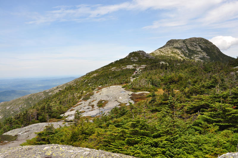 Summit Of Mount Mansfield, The Highest In Vermont Stock Photos
