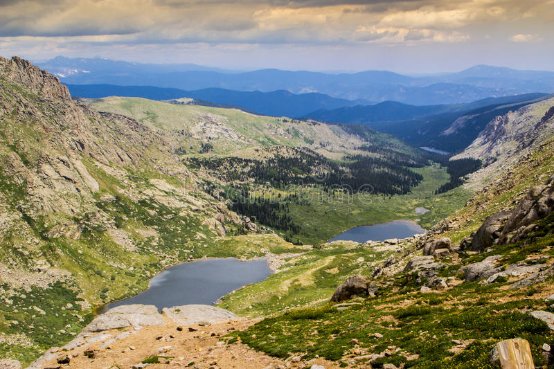Summit Seen stockbild