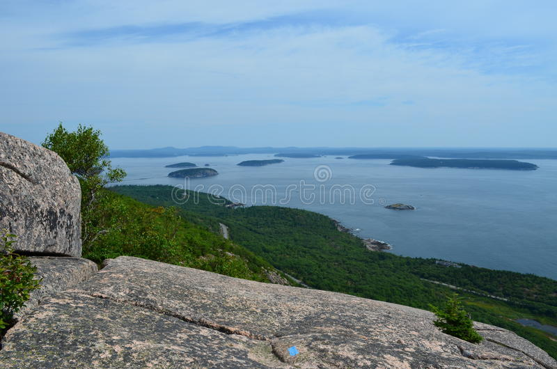 Download Summitt View stock photo. Image of ocean, outdoors, hiking - 26104340