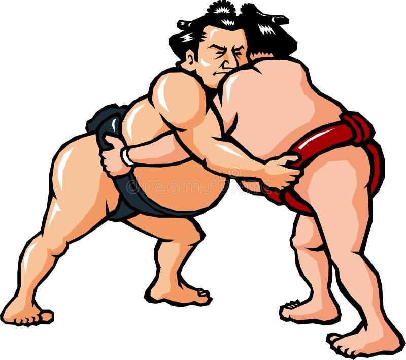 sumo stock illustrationer