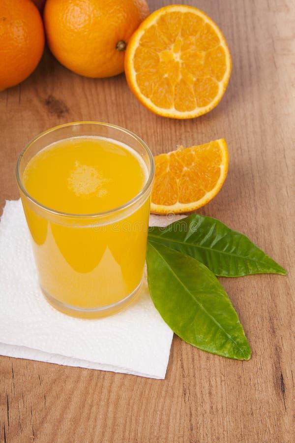 Sumo de laranja foto de stock royalty free