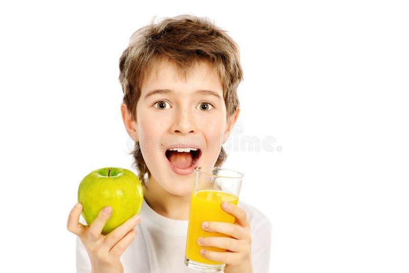 Sumo de maçã imagens de stock royalty free
