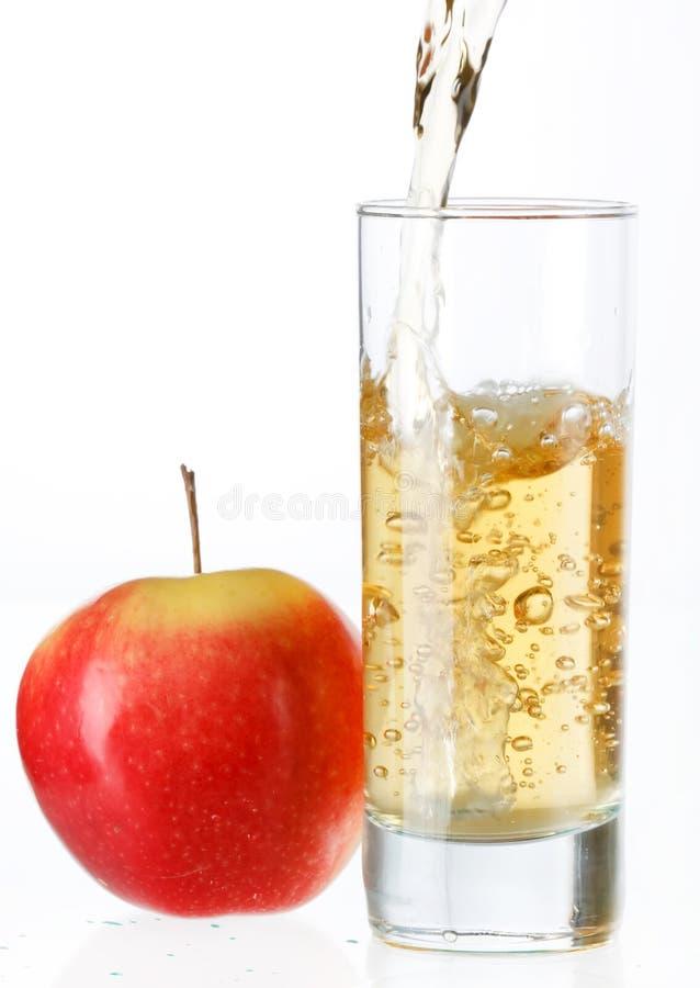 Sumo de maçã fresco imagem de stock royalty free