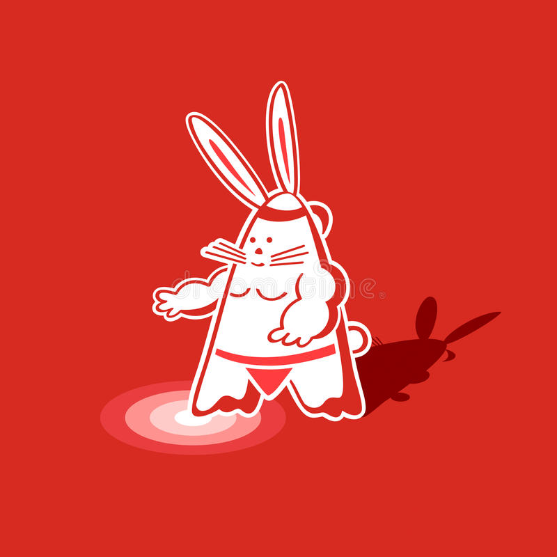 Download Sumo Rabbit Stock Photo - Image: 16622700