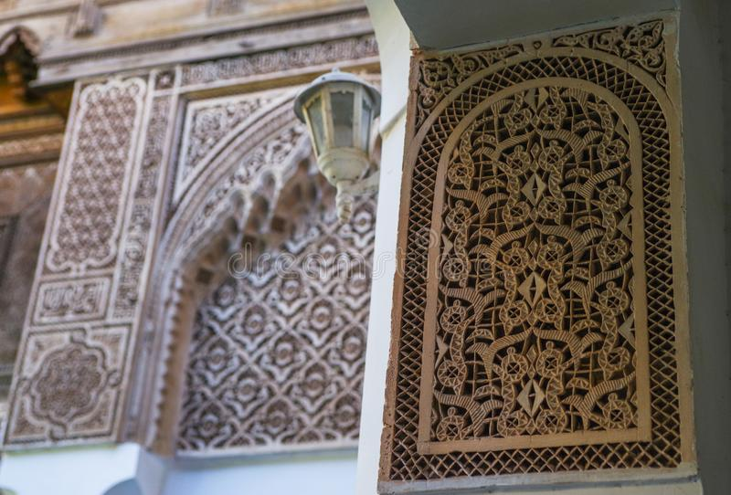 Details of Arabic pattern stock images