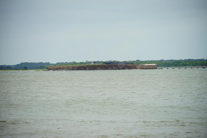 Sumter forte a Charleston, Carolina del Sud immagini stock