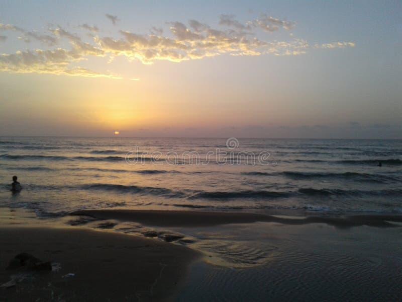 Sun è giù fotografie stock libere da diritti