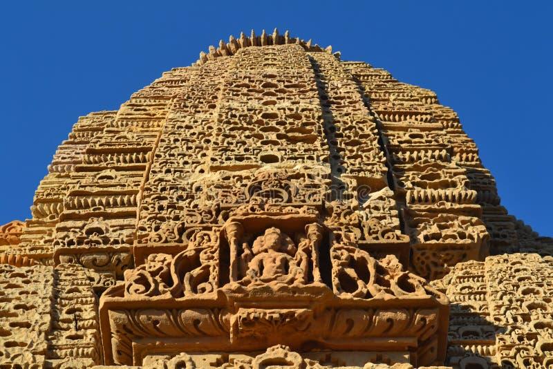 Sun świątynia obraz royalty free