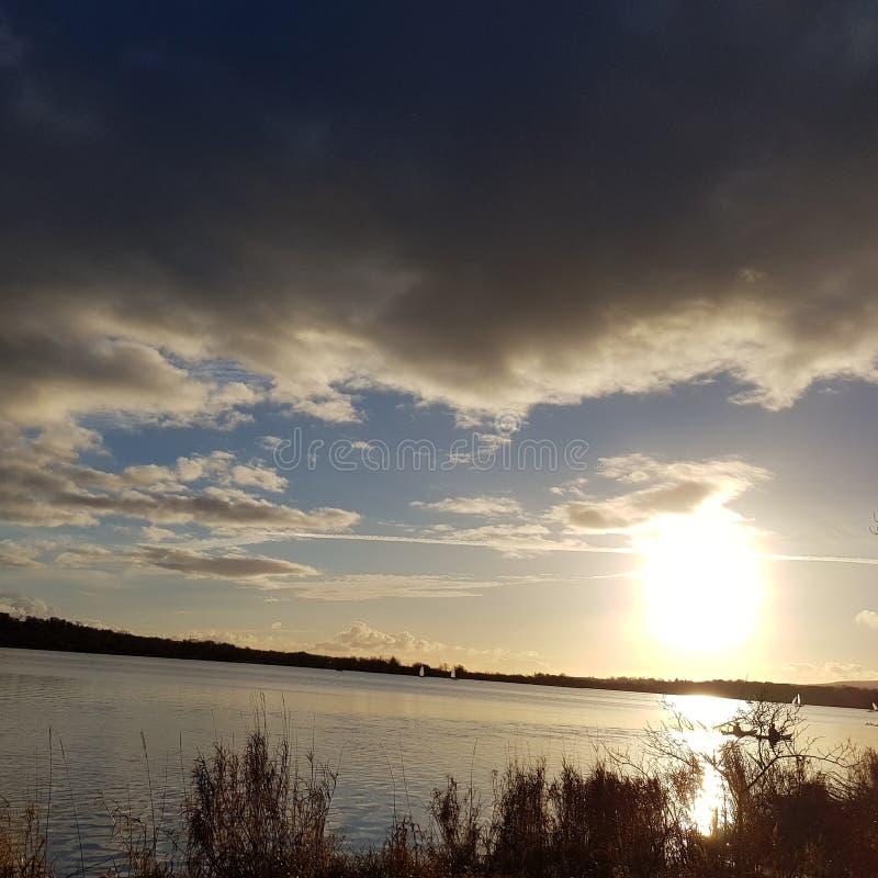 Sun и вода стоковые изображения rf