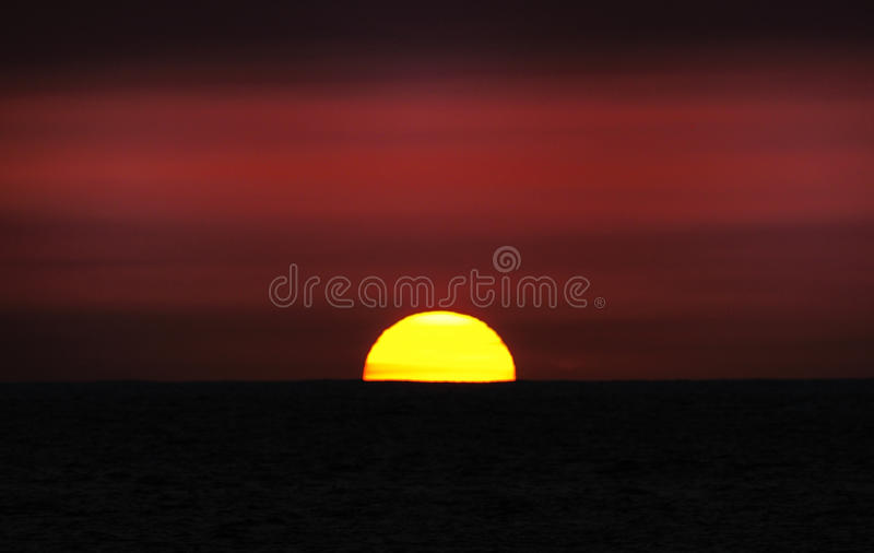 Download The Sun stock image. Image of serenity, close, half, cloud - 13282585