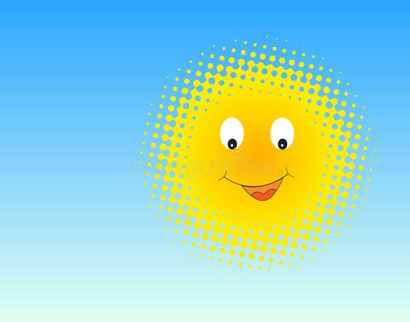 Download Sun stock vector. Image of face, happiness, cartoon, light - 15016970