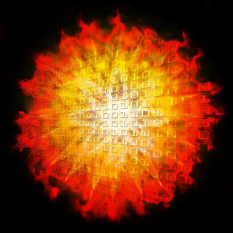 Sun 2012 illustration de vecteur