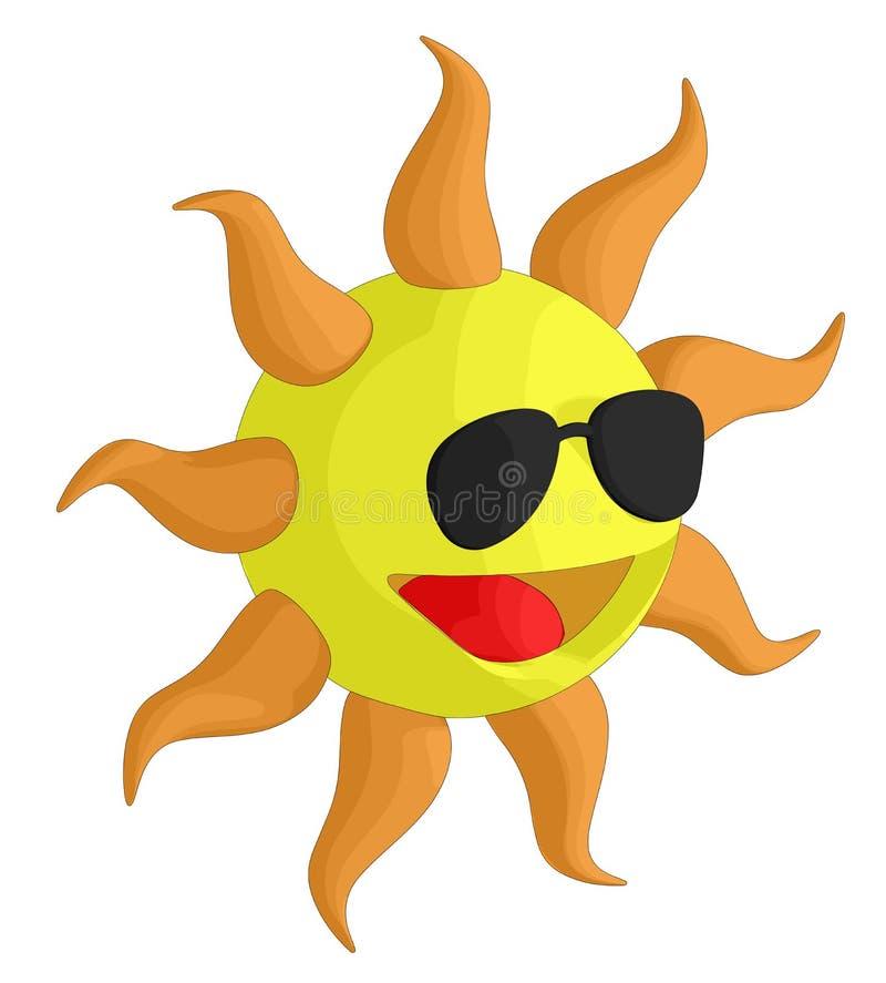 Download Sun ilustracja wektor. Ilustracja złożonej z abstrakt - 28969893