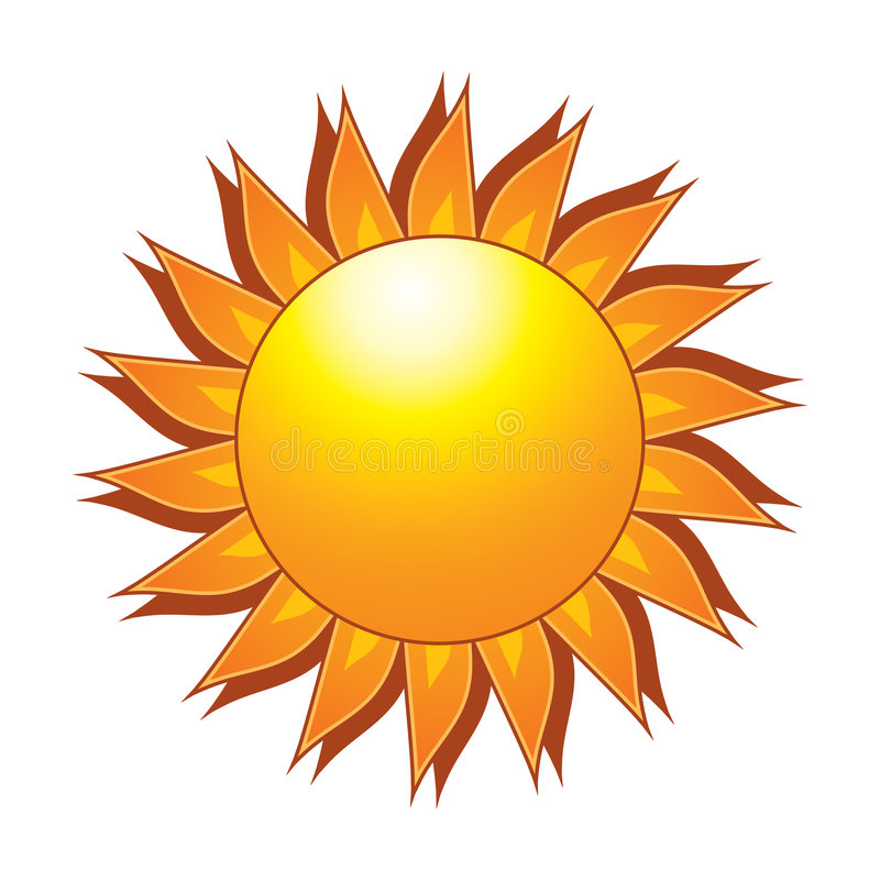 The Sun stock image
