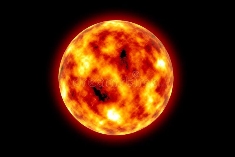 Download Sun stock illustration. Image of galaxy, energy, creation - 3770386