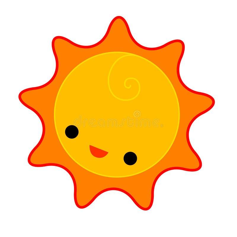 Sun vektor abbildung
