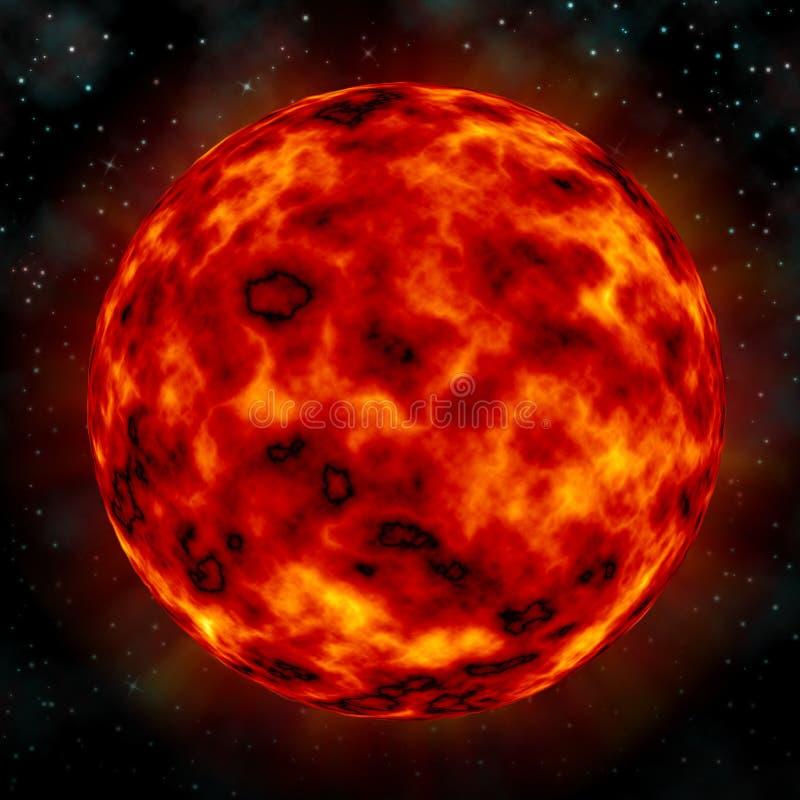 Sun. Illustration Sun Stars vector illustration