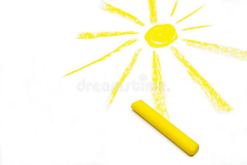 Sun royalty free illustration