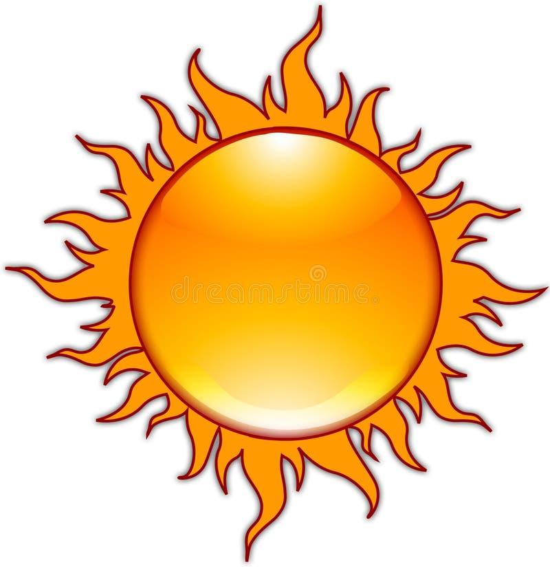 The Sun vector illustratie