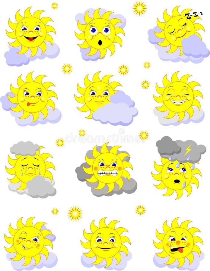 Sun illustration libre de droits