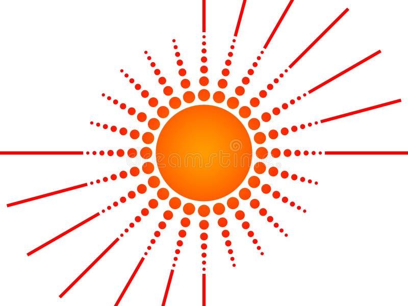 Download Sun stock de ilustración. Ilustración de círculo, disco - 7288283