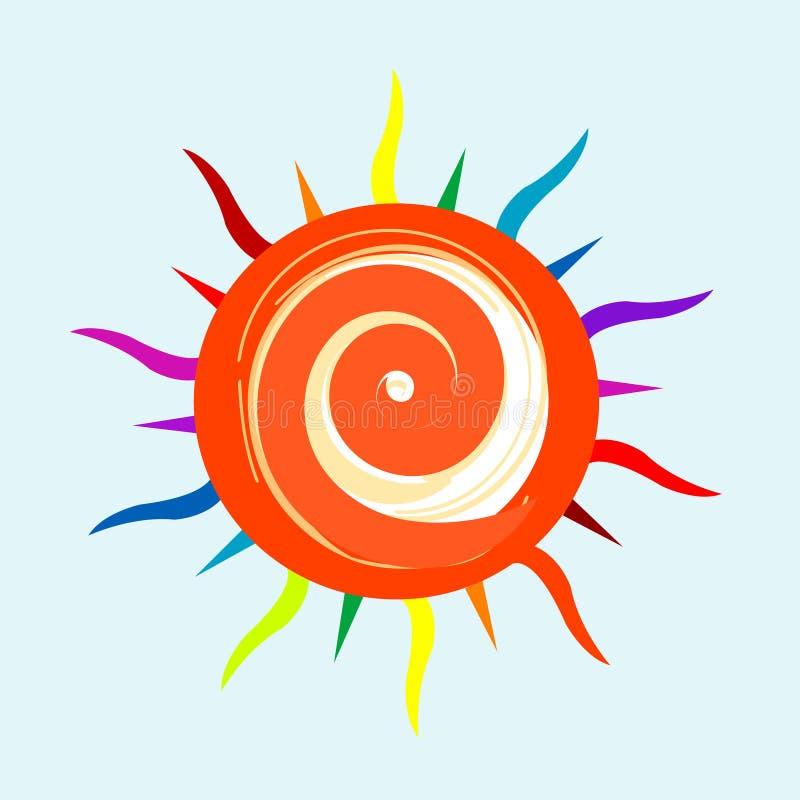 Download Sun stock illustration. Image of nature, solar, sunshine - 7624161