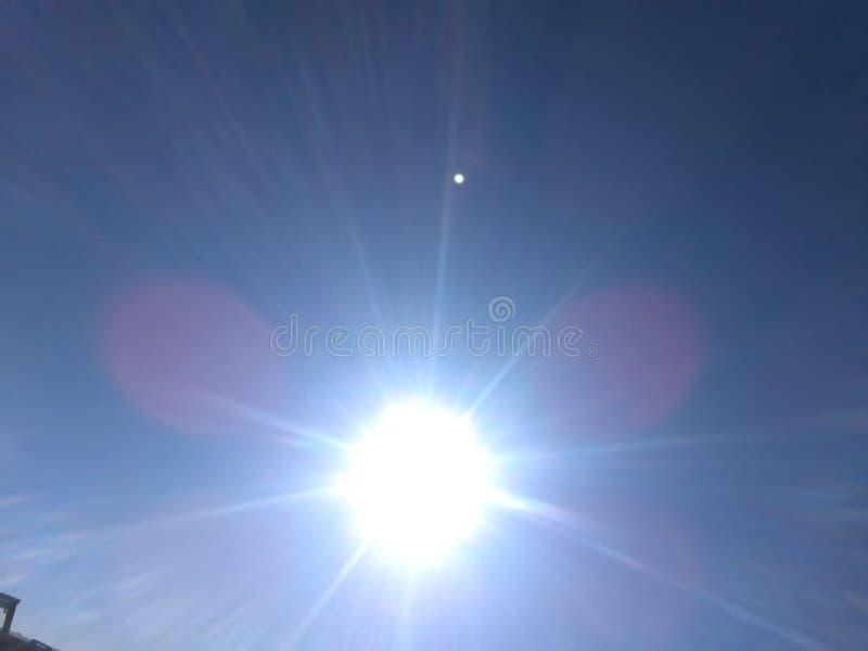 Sun immagine stock