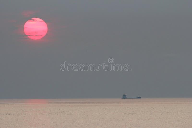 Sun abajo fotos de archivo