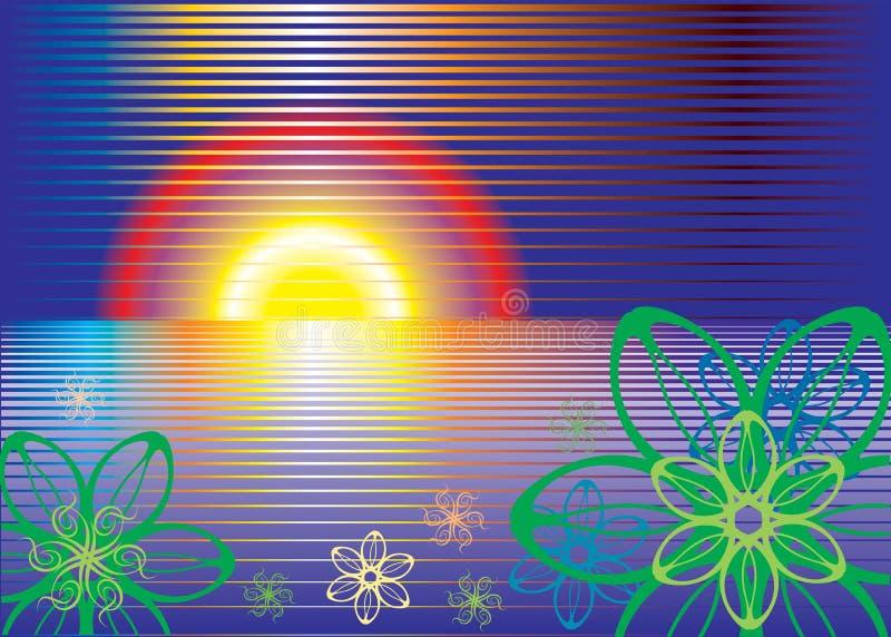 Sun_abstract vektor abbildung