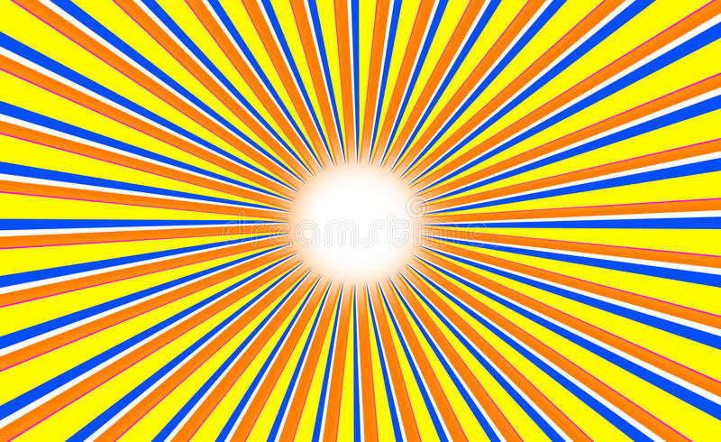 Sun abstract color background royalty free stock photography