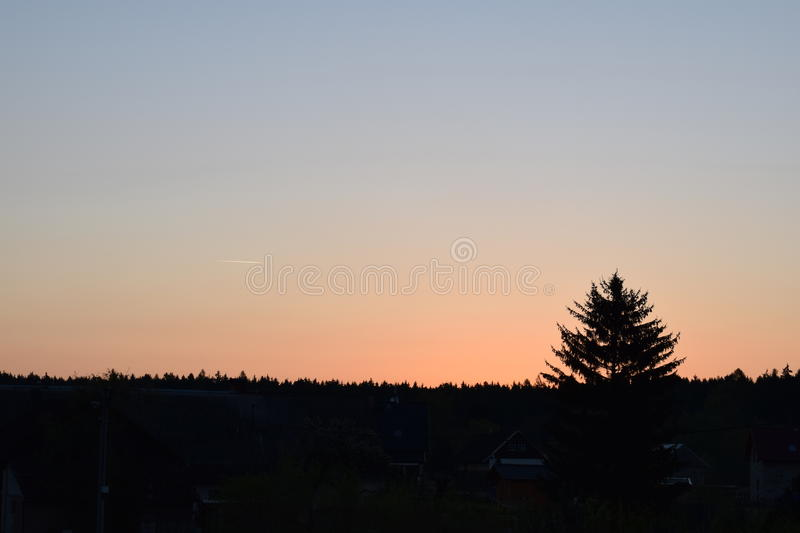 Sun on the air royalty free stock photography
