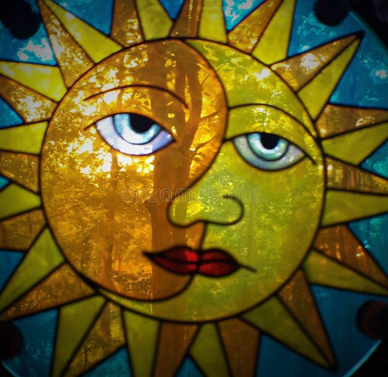Sun auf meinem Verstand stockfoto