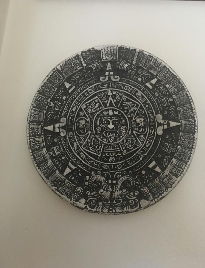 Sun aztèque photo stock