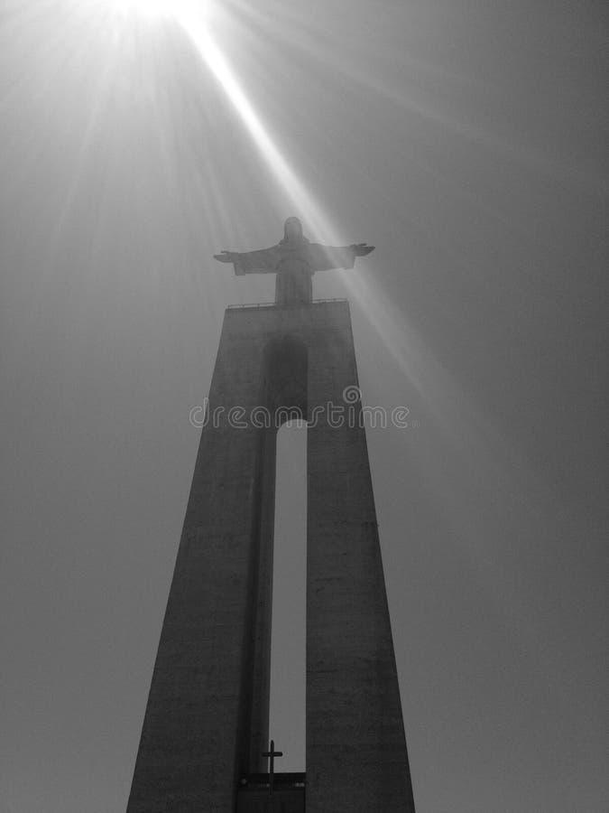 Sun-Baden Christus stockfotografie