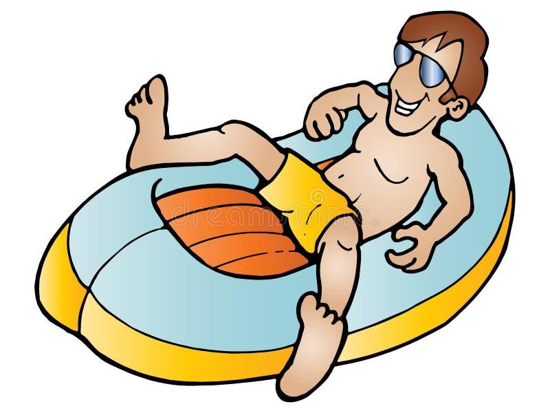 Sun Bathing Stock Photos