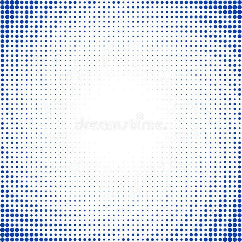 Sun beans. On blue sky. Halftone effect vector illustration